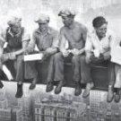 Lunch Over Manhattan Charles C. Ebbetts 1932  Panoramic Art Print