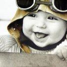 Kim Anderson Baby Pilot Art Print