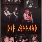 Def Leppard Band Collage Poster Print