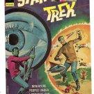 Star Trek Gold Key Comics Miniature People Embossed Metal Tin Sign