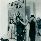 Wizard Of OZ Cast In Front Of Book  B/W 8x10 Glossy Photo