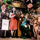 Wizard Of OZ  With Munchkins Color 8x10 Glossy Photo