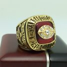 1969 Kansas City Chiefs super bowl Championship Ring 11 Size With wooden box