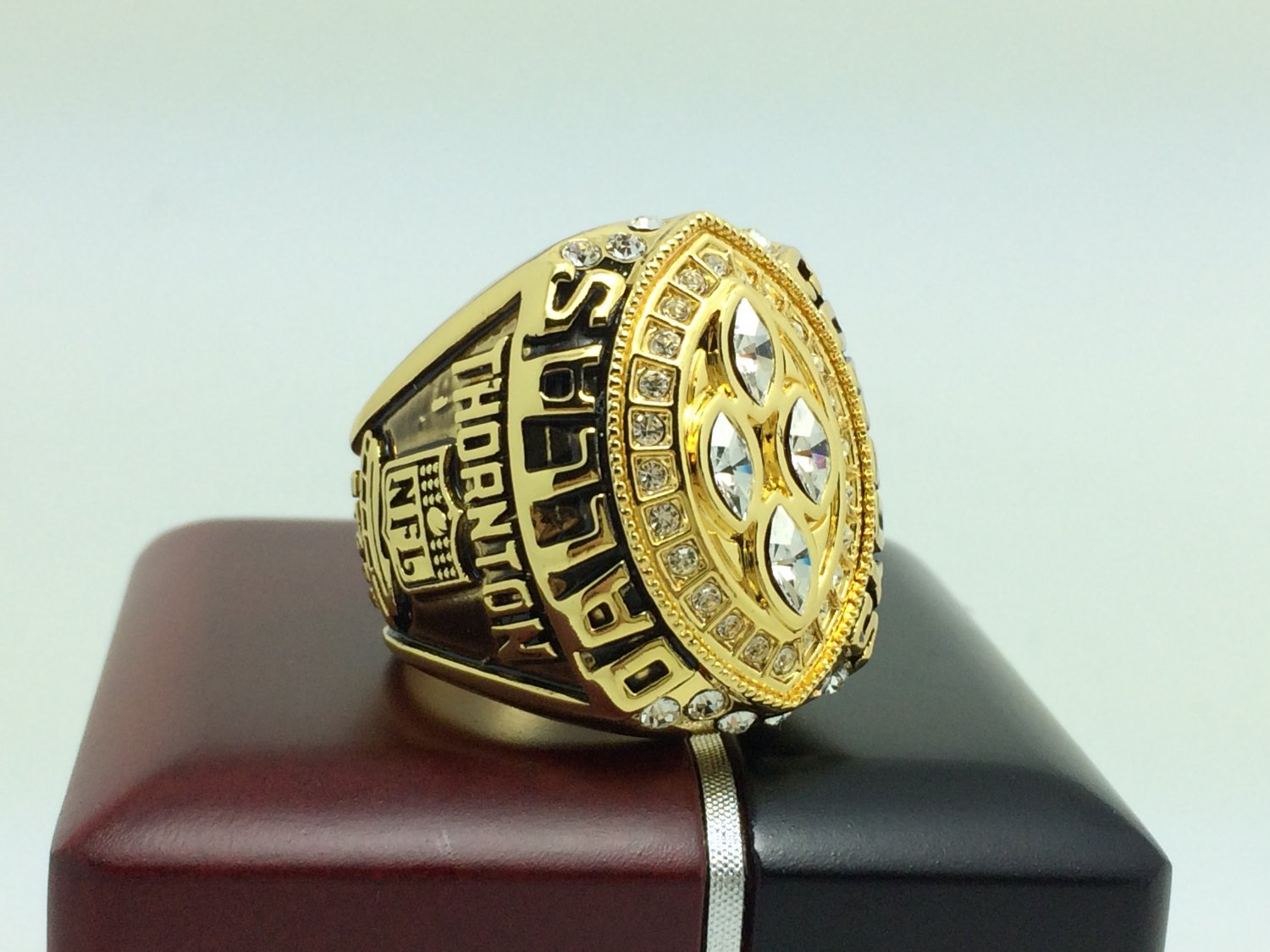 1993 Dallas Cowboys super bowl Championship Ring 11 Size With wooden box
