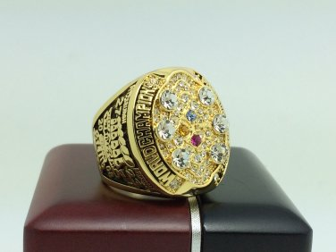 2008 Pittsburgh Steelers super bowl Championship Ring 11 Size With wooden box