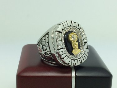 2006 Miami Heat Basketball NBA Championship Ring Wade name 10 Size With wooden box