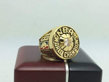 1980 Los Angeles Lakers  Basketball NBA Championship Ring 10 Size Name JOHNSON With wooden box