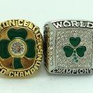 Celtics sets 2 PCS 1984 2008 Boston Celtics Basketball NBA Championship Ring 10 Size