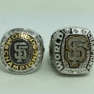 2PCS 2010 2014 San Francisco Giants world series Championship Ring 9-13 Size