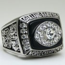 1976 Oakland Raiders super bowl Championship Ring 11 Size