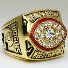 1982 Washington Redskins super bowl Championship Ring 11 Size