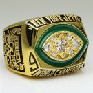 1968 New York Jets super bowl Championship Ring 11 Size