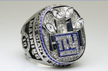 2011 New York Giants super bowl Championship Ring 11 Size