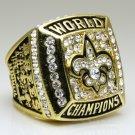 2009 New Orleans Saints super bowl Championship Ring 11 Size