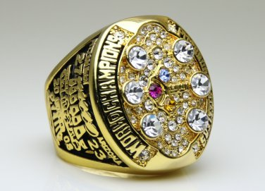 2008 Pittsburgh Steelers super bowl Championship Ring 11 Size