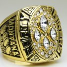 1989 San Francisco 49ers super bowl Championship Ring 11 Size