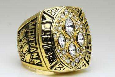 1989 San Francisco 49ers super bowl Championship Ring 11 Size