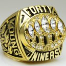 1994 San Francisco 49ers super bowl Championship Ring 11 Size