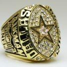 1992 Dallas Cowboys super bowl Championship Ring 11 Size