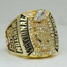 2013 NCAA Florida state Seminoles BCS National Championship Ring 8-14 Size