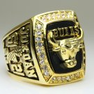 1991 Chicago Bulls  Basketball NBA Championship Ring 10 Size