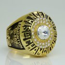 1985 Edmonton Oilers Stanley Cup Championship ring 11 Size
