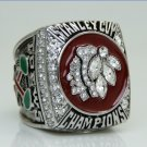 2013 Chicago BlackHawks Stanley Cup Championship ring 11 Size Alloy solid back heavy one