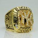 2000 New York Yankees world series Championship Ring Name Jeter 11 Size