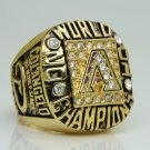 2001 Arizona Diamondbacks world series Championship Ring 11 Size