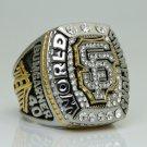 2014 San Francisco Giants MLB world series Championship Ring 11S Engraved inside