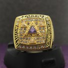Special memoriable ring for 2002 Los Angeles Lakers ring with KOBE name