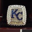 2015 Kansas City Royals MLB world series Championship rings PEREZ with wooden box