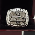 2013 Seattle Seahawks super bowl Championship Ring 8-14S copper solid ingraved inside wooden box