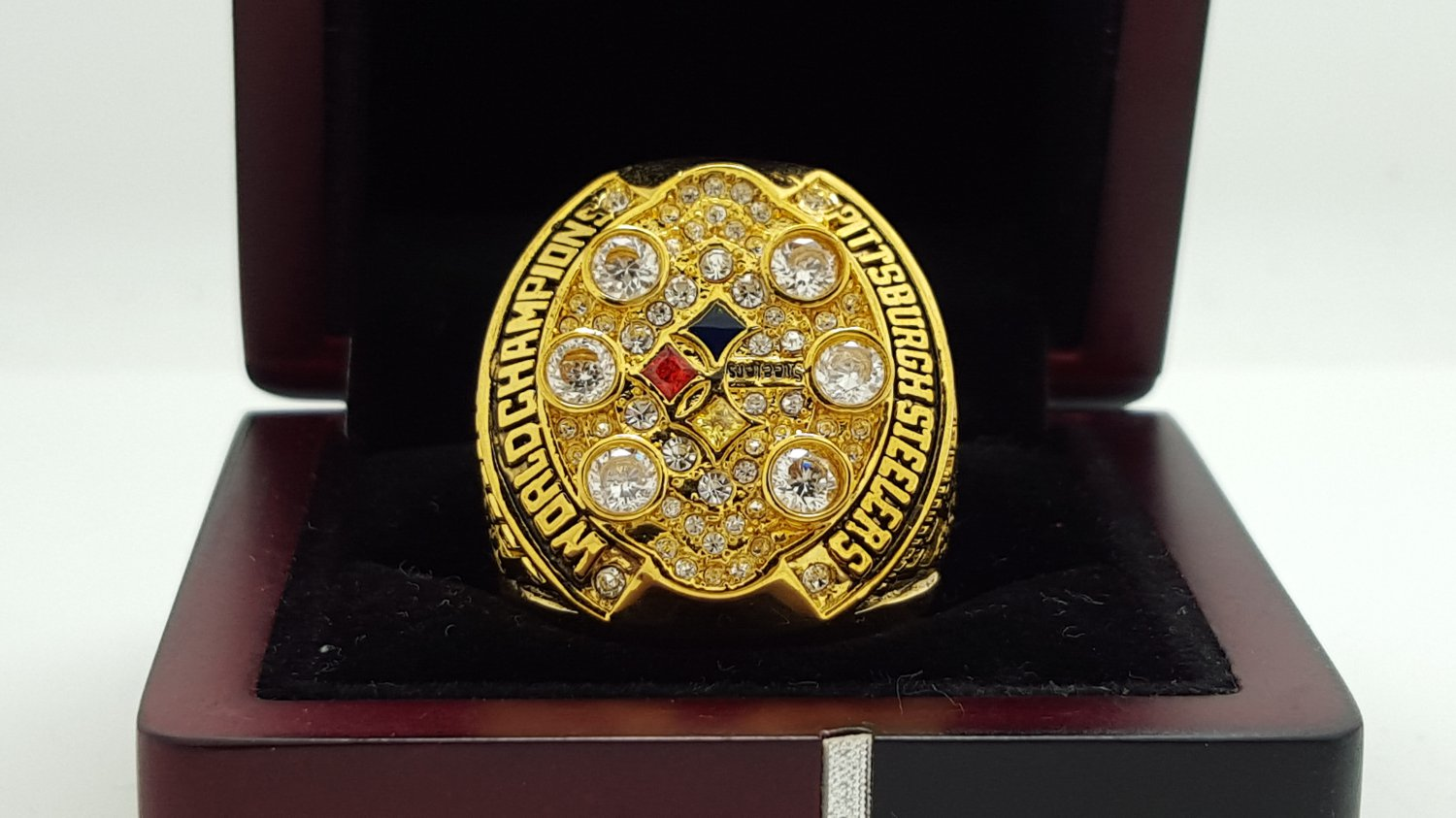 2008 Pittsburgh Steelers super bowl Championship Ring 8-14S