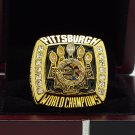 2005 Pittsburgh Steelers super bowl Championship Ring 8-14S copper solid ingraved inside