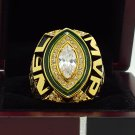 2014  Green bay packers super bowl Championship Ring MVP Rogers ring 8-14S