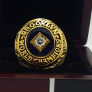 1955  Los Angeles Dodgers world series Championship Ring 8-14 Size