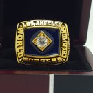 1981 Los Angeles Dodgers world series Championship Ring 8-11 Size
