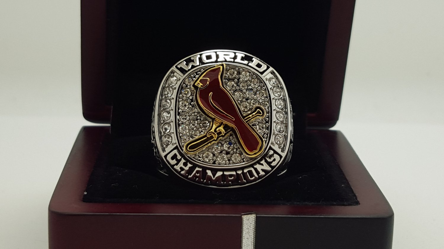 2011 St. Louis Cardinals world series Championship Ring 8-14 Size