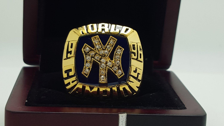 1996 New York Yankees world series Championship Ring Name Jeter 8-14S