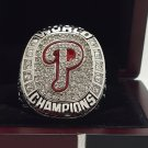 2008 Philadelphia Phillies Sox world series Championship Ring 8-14S