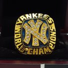 1977 New York Yankees world series Championship Ring Name MUNSON 8-14S