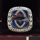 2013 Denver Broncos AFC super bowl Championship Ring 8-14 Size