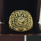 1978 Alabama Crimson SEC Football National Championship ring replica size 11 US solid back