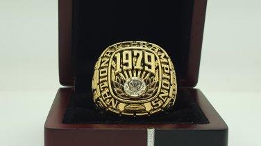 1979 Alabama Crimson SEC Football National Championship ring replica size 11 US solid back