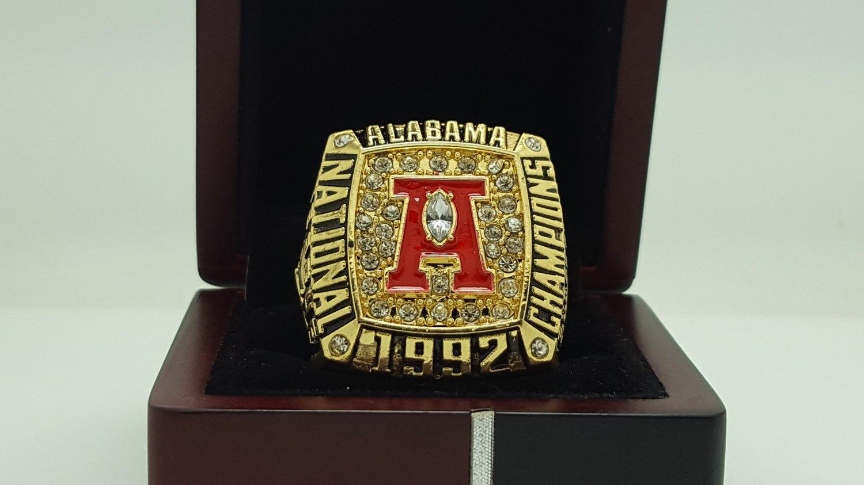 1992 Alabama Crimson Sec Football National Championship: alabama sec championship shirt