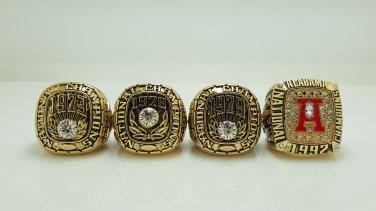 1973 1978 1979 1992 Alabama Crimson SEC Championship ring size 11 US solid