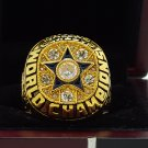 1971 Dallas Cowboys super bowl Championship Ring 8-14S