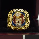 1989 Detroit Pistons Basketball NBA Championship Ring 8-14S