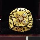 1987 Los Angeles Lakers  Basketball NBA Championship Ring 8-14 Size Name JOHNSON
